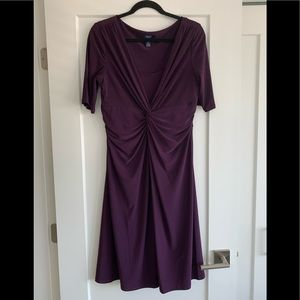 Chaps rich plum coloured dress bought from The Bay